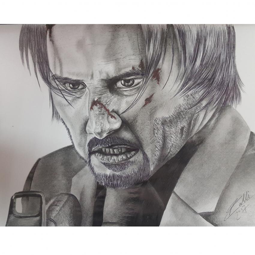 Keanu Reeves by RobertoMalta89